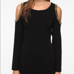 Urban Outfitters Silence + Noise Black Dress